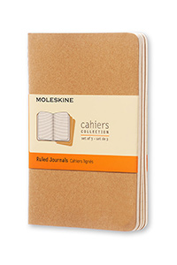 Moleskine® Set of 3 Ruled Journals