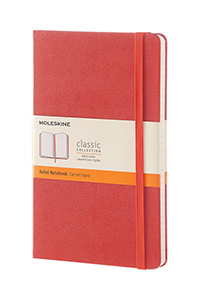 Moleskine® Hard Cover Ruled Notebook
