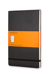 Moleskine® Hard Cover Ruled Reporter Notebook