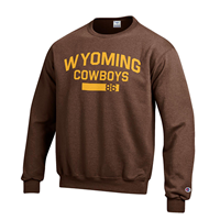 Champion® Wyoming Cowboys Crew