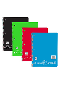 A Best Value! - Roaring Springs® 3 Subject Notebook