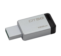 128GB USB 3.0 DT 50 METAL Black