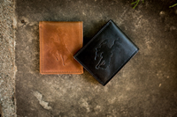 Westbridge Embossed Bucking Horse Leather Wallet