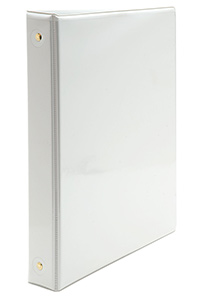 A Best Value! - White View Binder