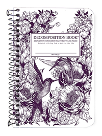 Coilbound Decomposition Book Hummingbirds
