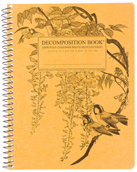 Coilbound Decomposition Book Leafy Perch