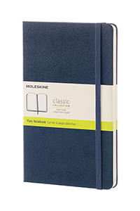 Moleskine® Hard Cover Plain Notebook