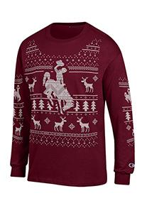 Champion® Ugly Christmas Long Sleeve Tee