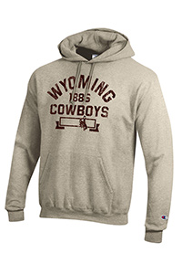 Champion® Ecopowerblend Wyoming 1886 Cowboys Oatmeal Hoodie