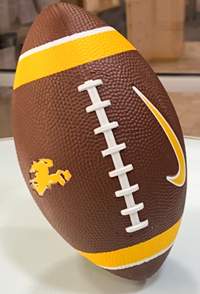Nike® Bucking Horse Mini Football