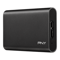 Pny Pro Elite 480 Gb Portable Solid State Drive - External
