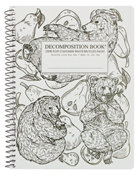 Coilbound Decomposition Book Pear Bears
