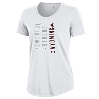 Under Armour® Ladies Charged Cotton Powerful & Strong Tee