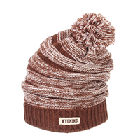 Zephyr® Exposure Slouch Ribbed Cuff Pom Beanie