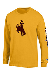 Champion® Bucking Horse Co-Branded Long Sleeve Tee