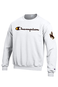 Champion® Script Co-Branded Crew