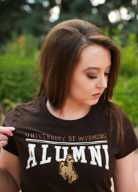 Summit Sportswear® Ladies Alumni Bling Tee