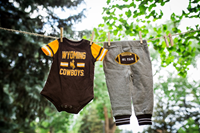 Colosseum® #1 Fan Onesie Pant Set