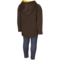 Colosseum® Toddler Girls Hoodie and Jegging Set