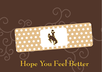 Get Well Soon Hope You Feel Better Band-aid Card