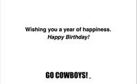 Happy Birthday Pistol Pete Confetti Card