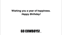 Happy Birthday Bucking Horse UW Card
