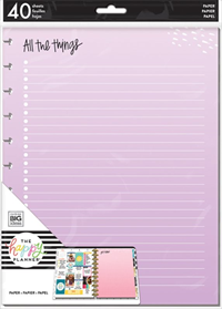 Planner Big Fill Page All Things