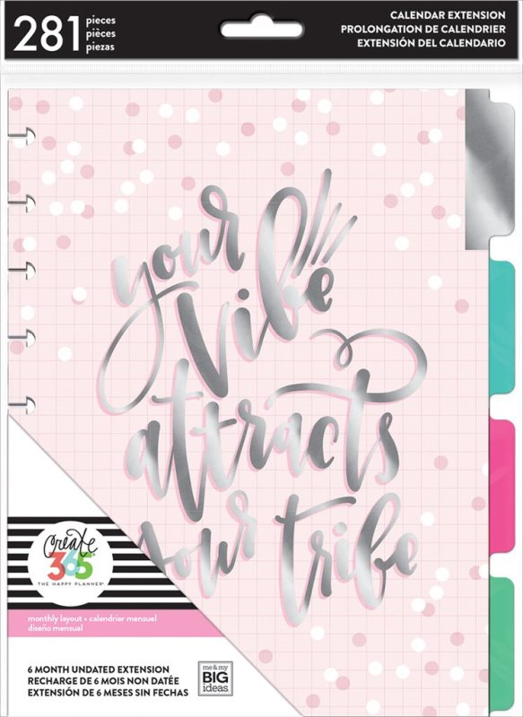Happy Planner Ext Pack Your Vibe (SKU 139025821426)