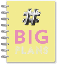 Happy Planner Med 18 Big Plans