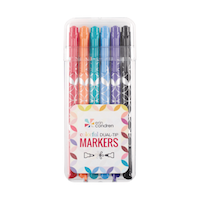 Markers Dual Tip Bold Brights