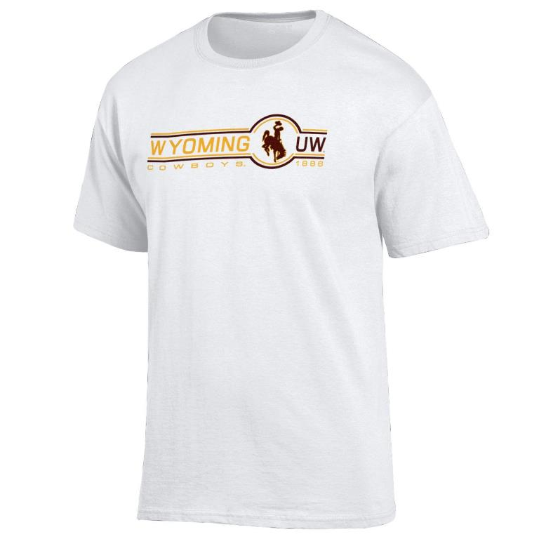 2F. Gear For Sports® Wyoming UW Soft Tee (SKU 139093451435)