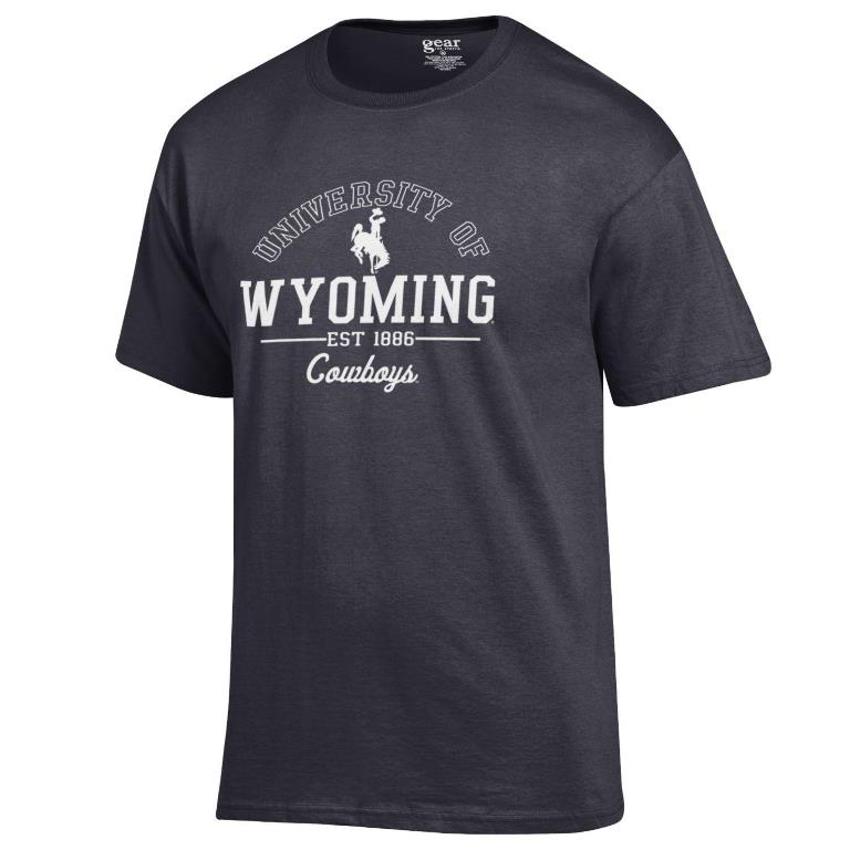 2H. Gear For Sports® University of Wyoming Cowboys Soft Tee (SKU 139093521435)