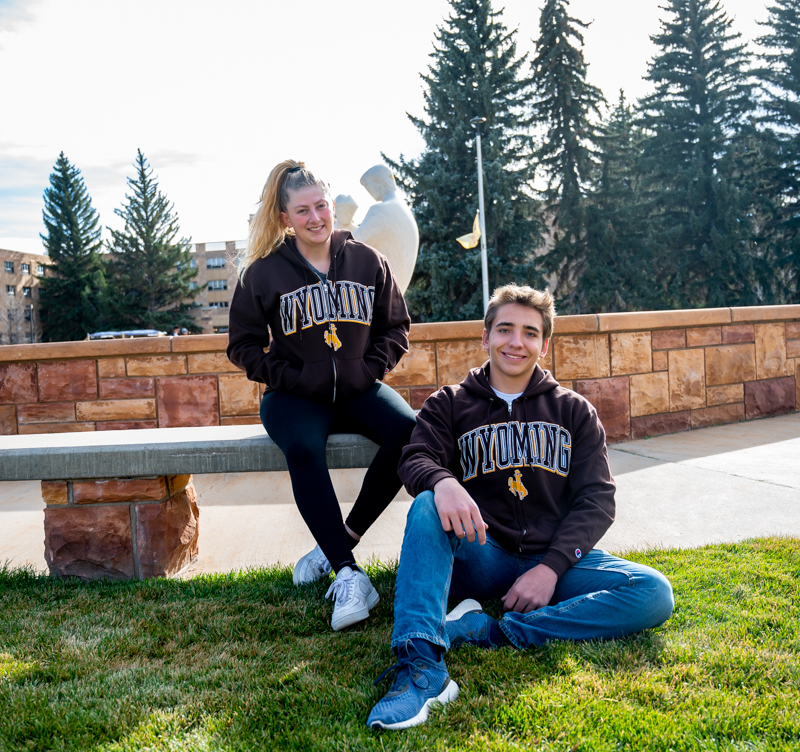 Champion® Wyoming Full Zip Hoodie (SKU 139097651265)