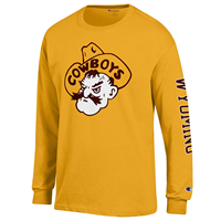2A. Champion® Pistol Pete Long Sleeve Tee
