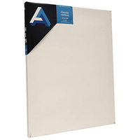 Classic Cotton Stretched Canvas, Studio Canvas 12X36