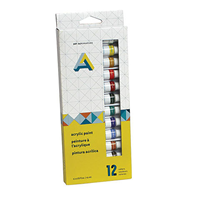 Paint Acrylic Set Of 12