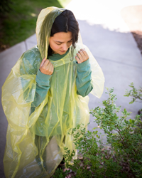 Storm Duds® Blank Emergency Poncho in Logoed Package