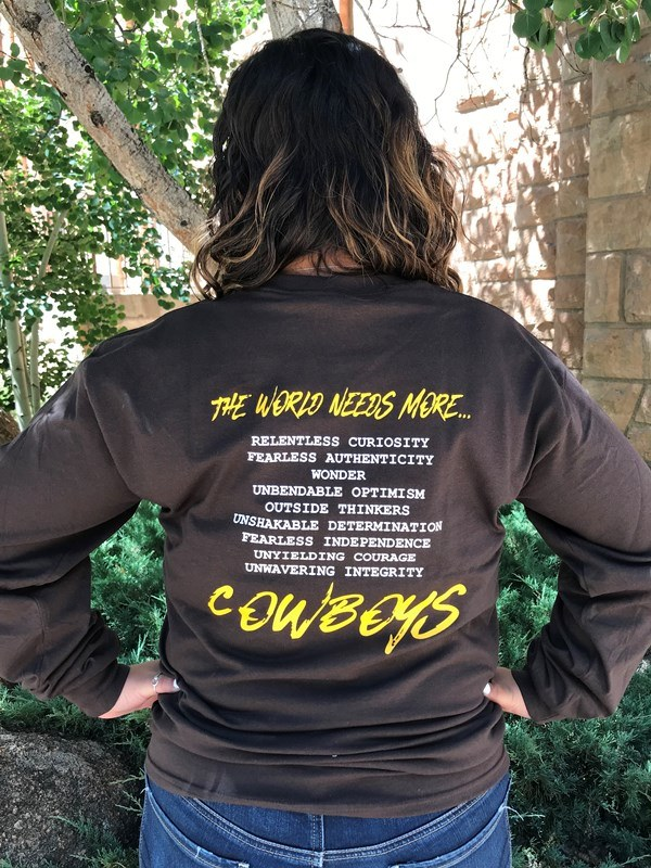 The World Needs More Cowboys Long Sleeve Tee (SKU 139301961429)