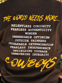 The World Needs More Cowboys Long Sleeve Tee