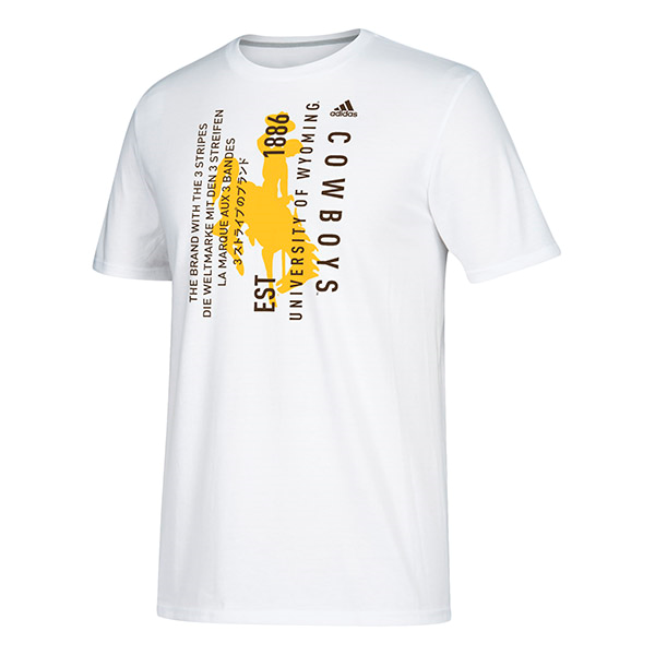 Adidas® Vertical Graphic Go-To Performance Tee (SKU 139424271434)