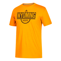 Adidas® Go-To Performance Tee Wyoming Hoops