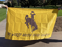 Wincraft® The World Needs More Cowboys Flag