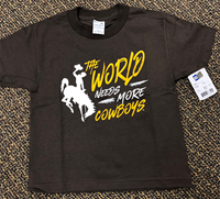 Ci Sport® Youth The World Needs More Cowboys Tee
