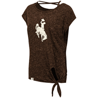 Colosseum® Ladies Tie Front Tee