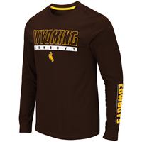 Colosseum® Wyoming Cowboys Long Sleeve Tee