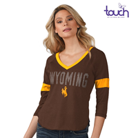 GIII 4Her® Ladies Ultimate Fan 3/4 Sleeve Tee * WAS $32.99 NOW $10.00