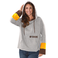 2A. GIII® Ladies Colorblock Wyoming Cropped Hood