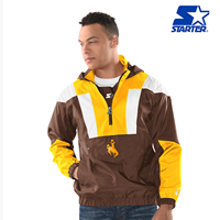 Giii® Starter® Brand 1/2 Zip Striker Jacket