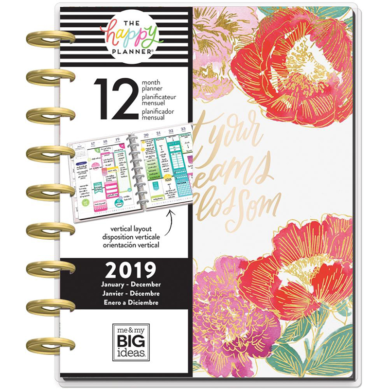 Year in Bloom Classic Happy Planner (SKU 139578961426)
