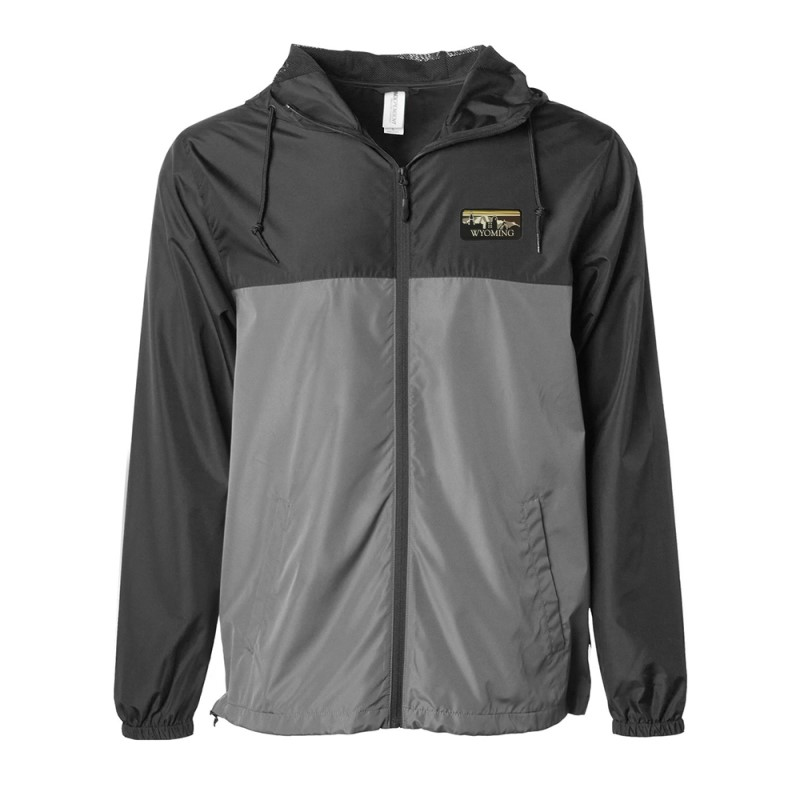 USCAPE® Full Zip Windbreaker Skyline Patch (SKU 139603081189)